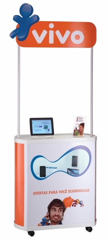 Balcão Promocional sob Medida em Macapá - Display Expositor sob Medida