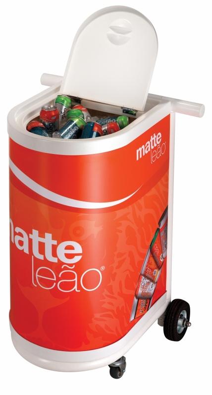 Cooler Térmico com Rodinha Personalizado na Anália Franco - Mini Cooler Térmica Personalizada