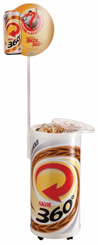 Cooler Térmico com Rodinha Personalizado