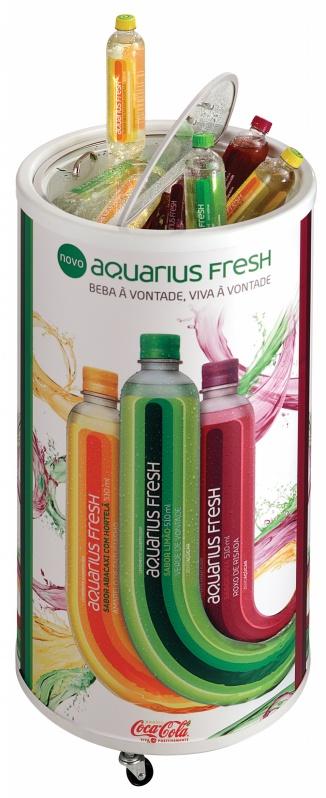 Coolers Promocionais Refrigerados em Goiânia - Cooler Promocional para Supermercado