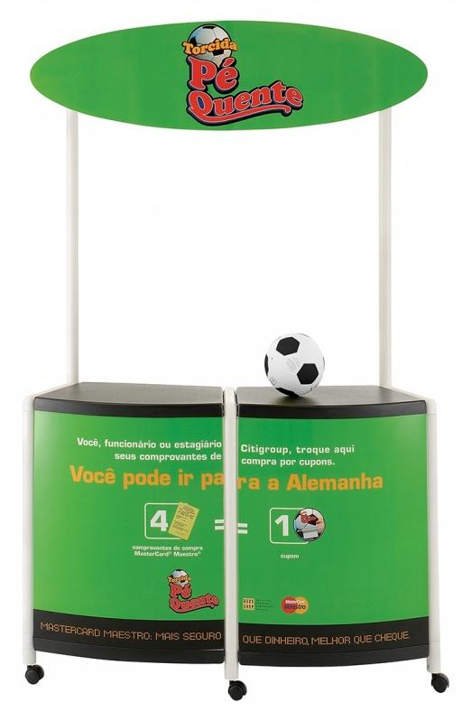 Display para Evento Promocional no Parque São Rafael - Display para Evento Cultural