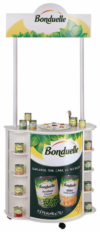 Expositor PDV para Supermercado na Anália Franco - Expositor Promocional Personalizado
