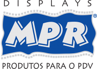 cooler térmico com o logotipo - MPR Displays