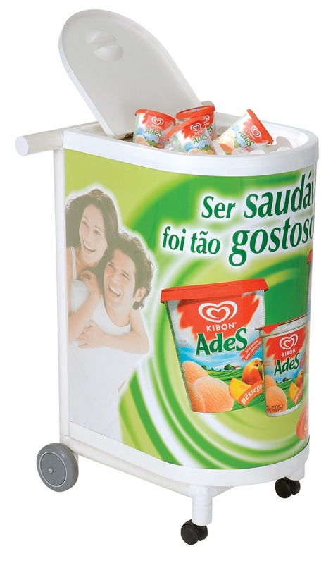 Quanto Custa Cooler Térmico com Rodinha Personalizado no Capão Redondo - Cooler Térmico com Rodinha Personalizado