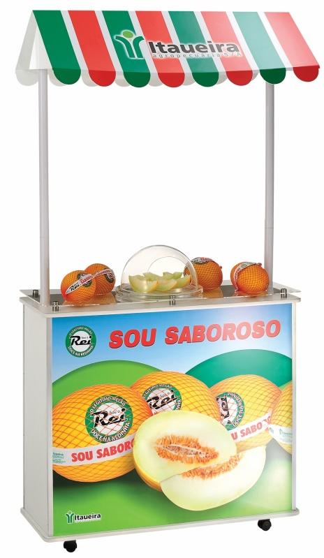 Expositor PDV para Supermercado