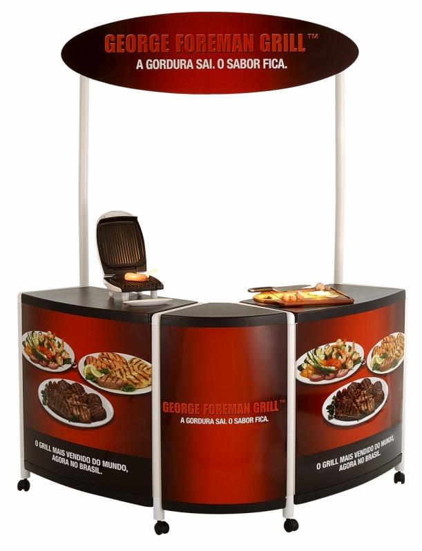Quiosque Customizado para Shopping Preço na Vila Romana - Quiosque em Shopping Center