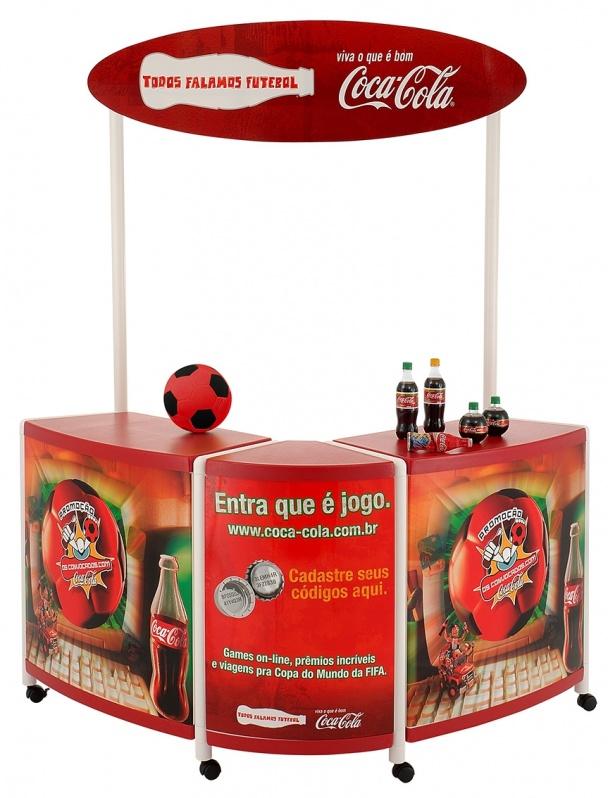Quiosque Customizado para Shopping no Ibirapuera - Quiosque de Shopping Personalizado