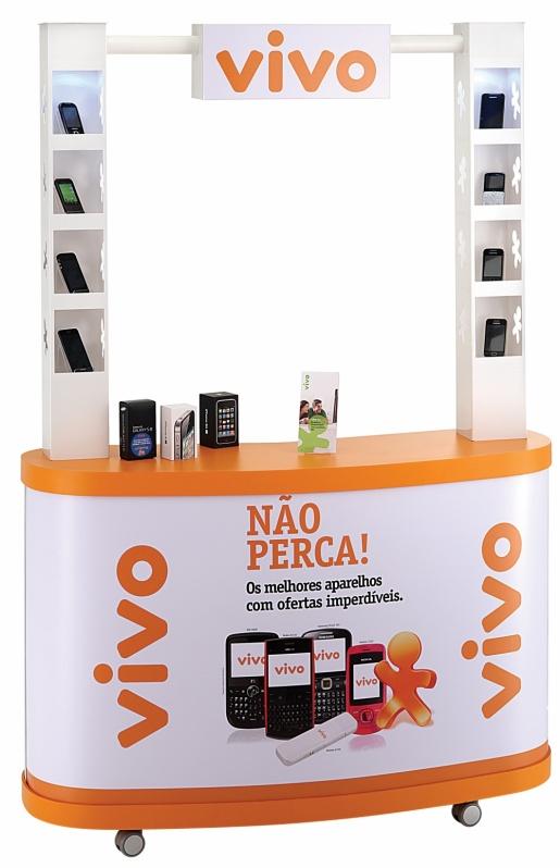 Quiosque Personalizado para Shopping no Cursino - Quiosque em Shopping Center
