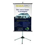 banner de PDV para loja preço em Brasilândia