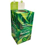 coletor reciclável personalizado para lojas preços Jardim Ângela