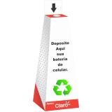 coletor reciclável personalizado para lojas