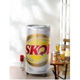 cooler refrigerado para cerveja na Serra da Cantareira