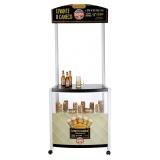 display promocional para exposição de produto preço no Bom Retiro