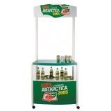 displays para exposição de produtos na Aclimação