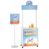 display promocional para exposição de produto