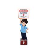preço de dispenser para álcool gel com reservatório Aricanduva