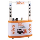 quanto custa display expositor de produto] no Jardim Paulistano