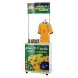 quanto custa stand promocional customizada em São Mateus