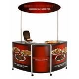quiosque customizado para shopping preço Vila Formosa