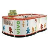 quiosques para pontos de venda no Sacomã