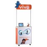 stand de venda portátil preço na Vila Dalila