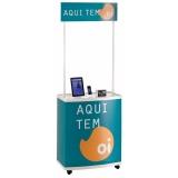 stand de venda portátil em São Lourenço da Serra