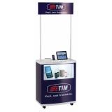 stand promocional customizada