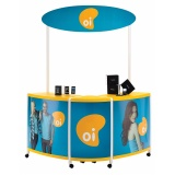 stands para shoppings no Centro