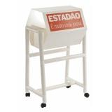 urna giratória promocional no Parque São Jorge