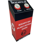 valor de coletor de material reciclável personalizado Vila Carrão