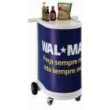 venda de carrinho de degustação Campo Belo