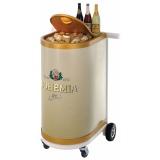 venda de carrinho para degustação personalizado Jandira