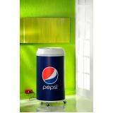 venda de cooler promocional refrigerado em Alphaville