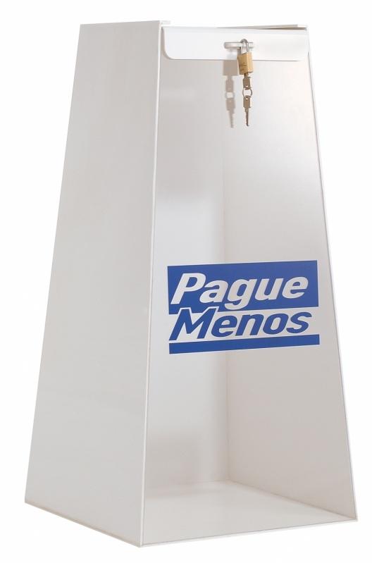 Urna para Cupom em Interlagos - Urna Promocional de Pirâmide