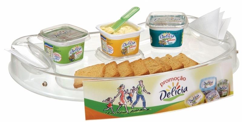 Venda de Bandeja de Degustação para Promoção em Carapicuíba - Bandeja para Degustação Personalizada