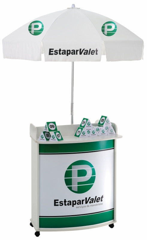 Venda de Expositor para Eventos no Pari - Expositor Promocional Personalizado